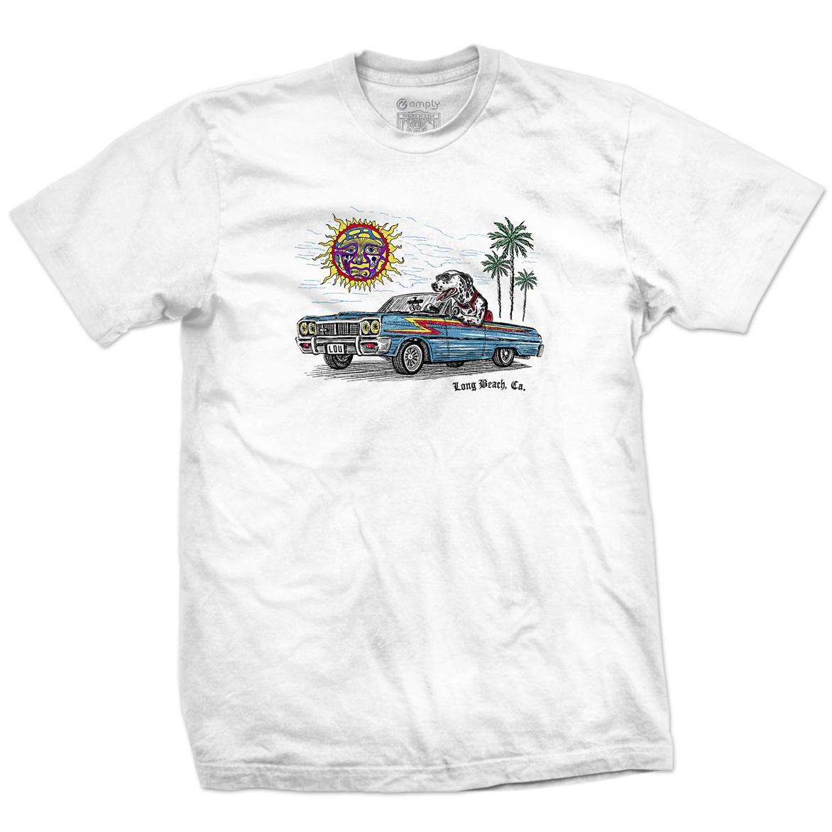 Camiseta Sublime - Lou Dog