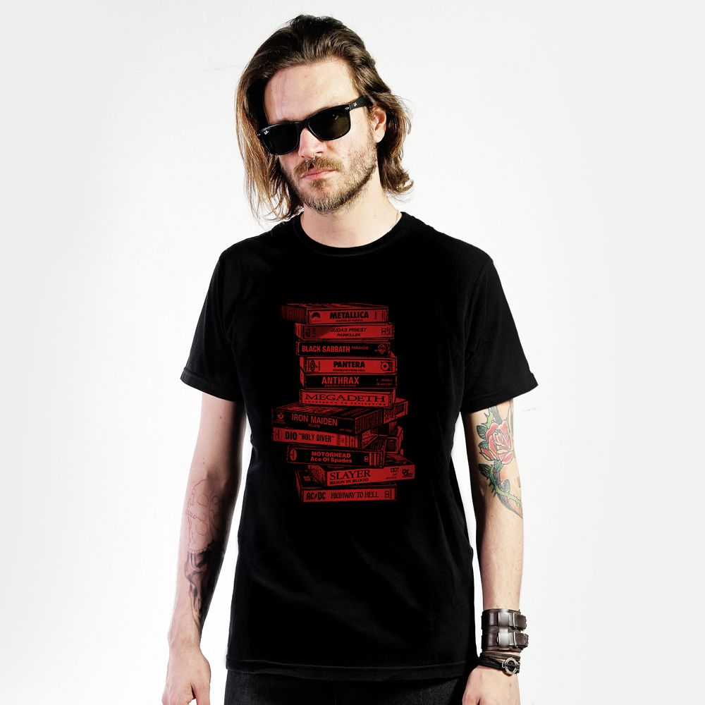 Camiseta Tapes Metal
