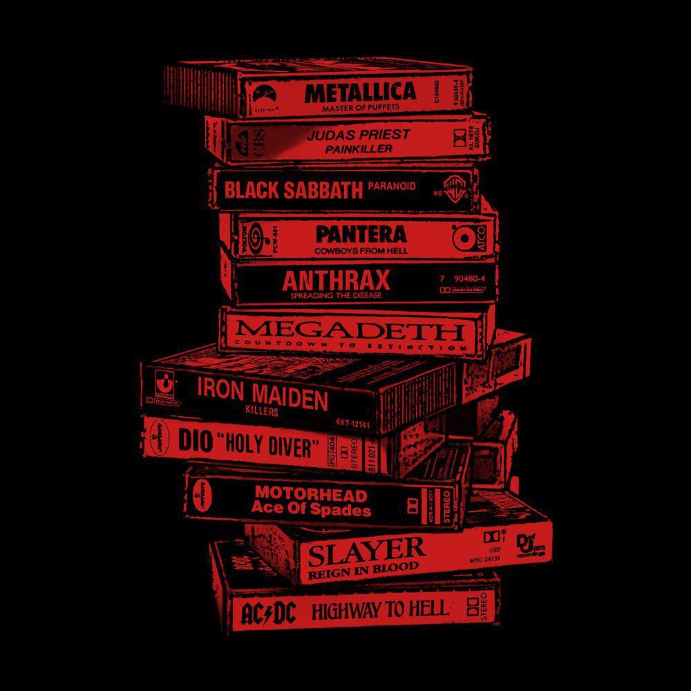 Camiseta Tapes Metal