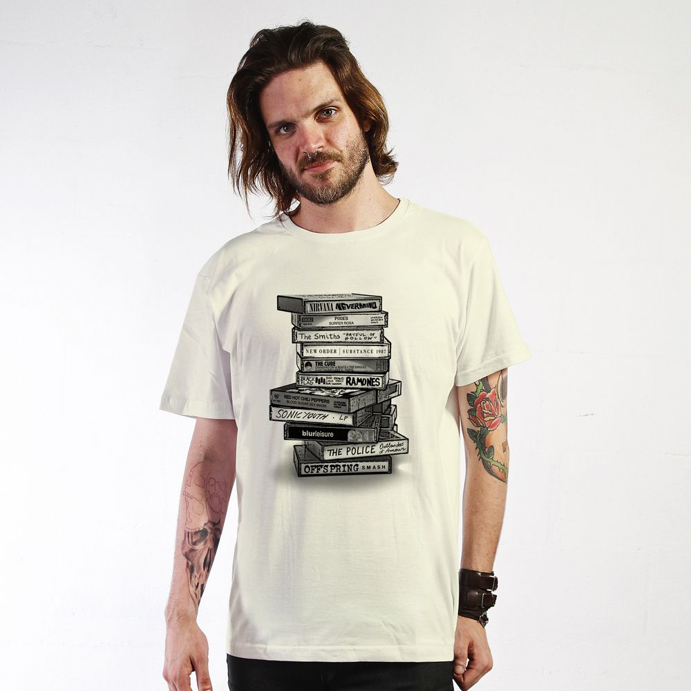 Camiseta Tapes Off White