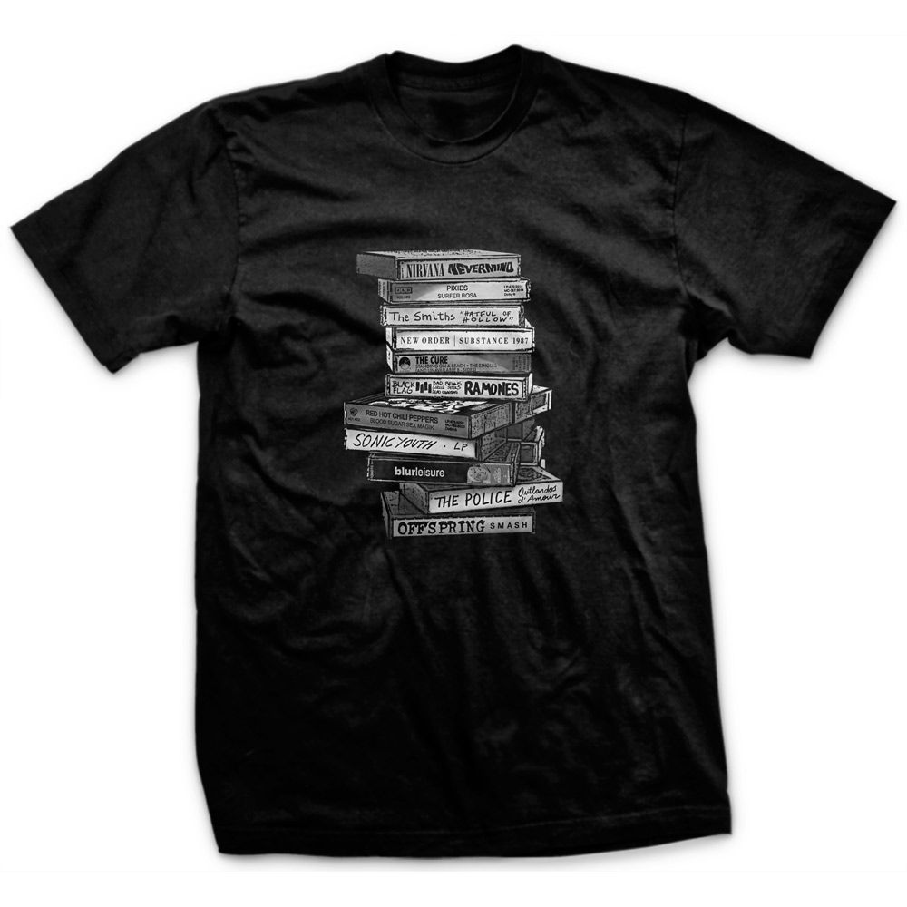 Camiseta Tapes Preto