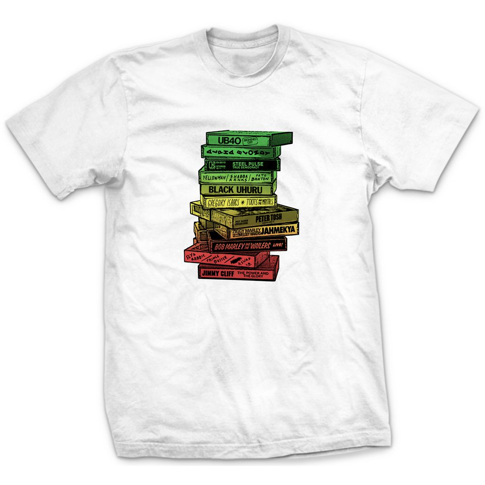 Camiseta Tapes Reggae
