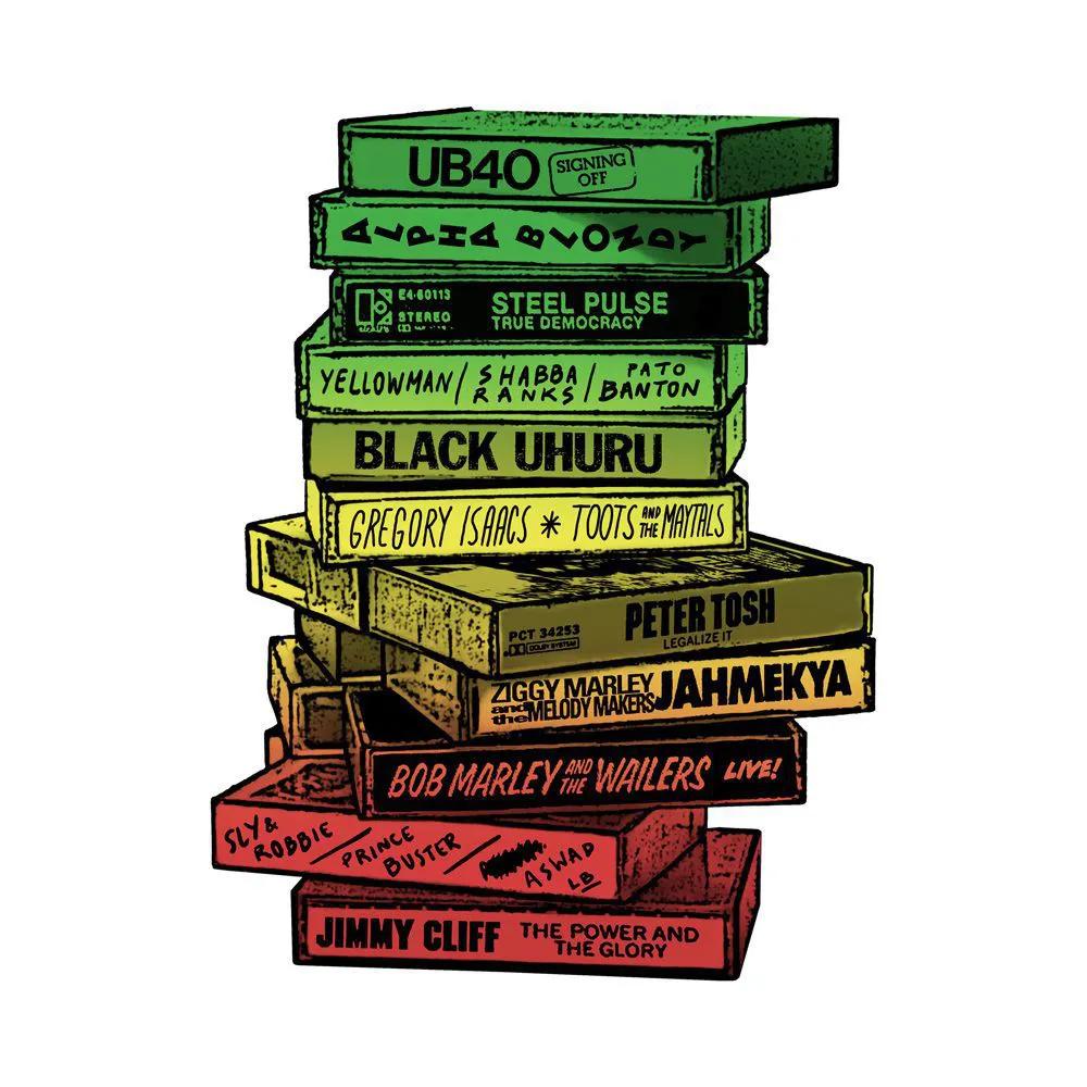Camiseta Tapes Reggae BR
