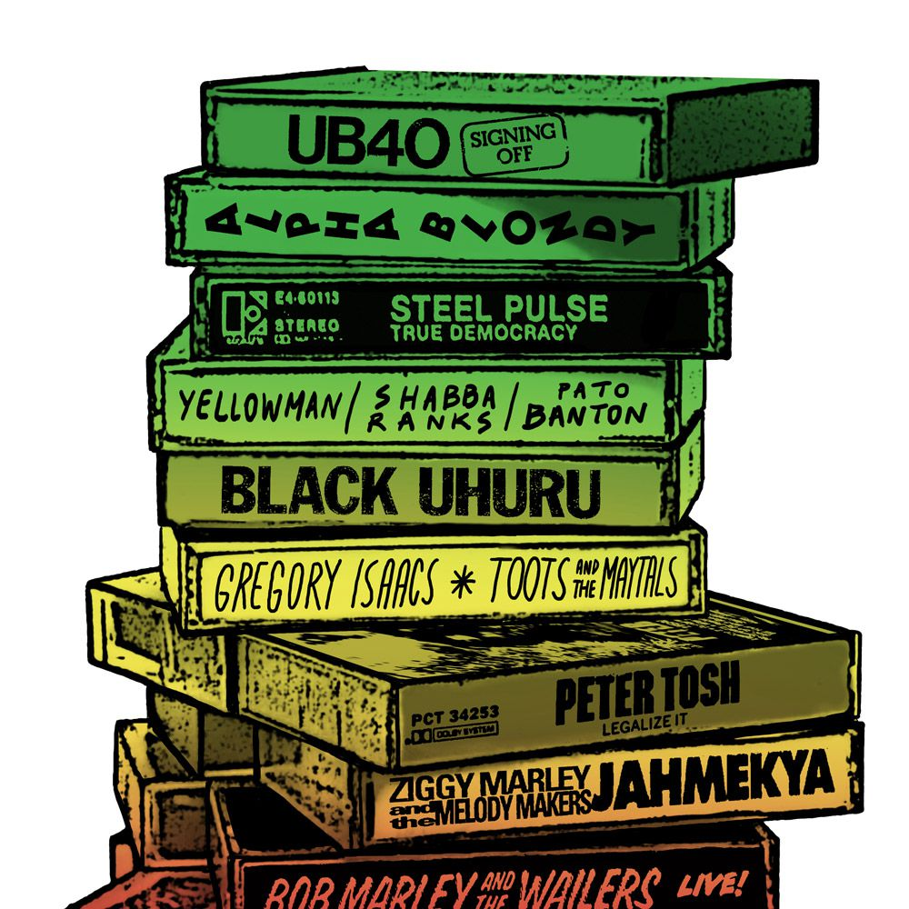 Camiseta Tapes Reggae