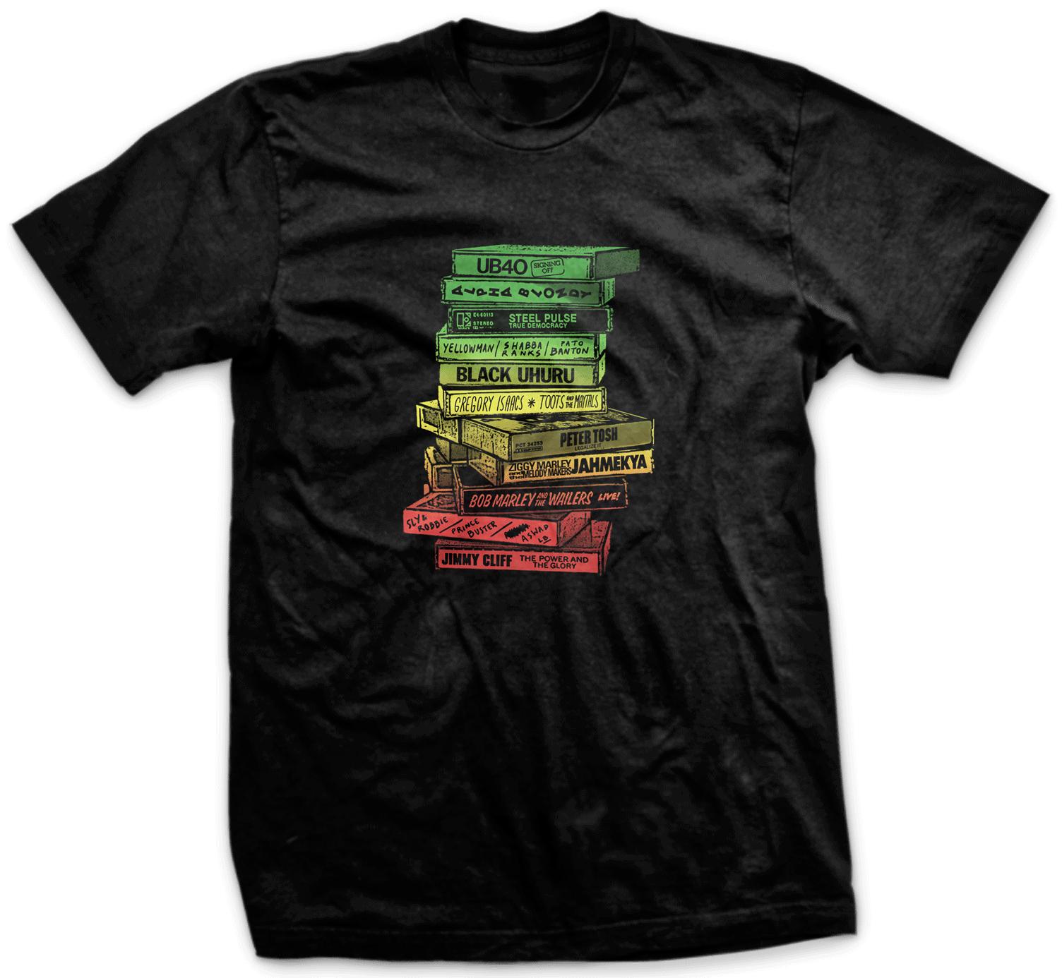Camiseta Tapes Reggae PT
