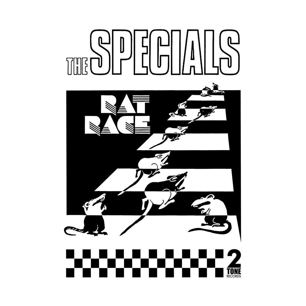 Camiseta The Specials - Rat Race