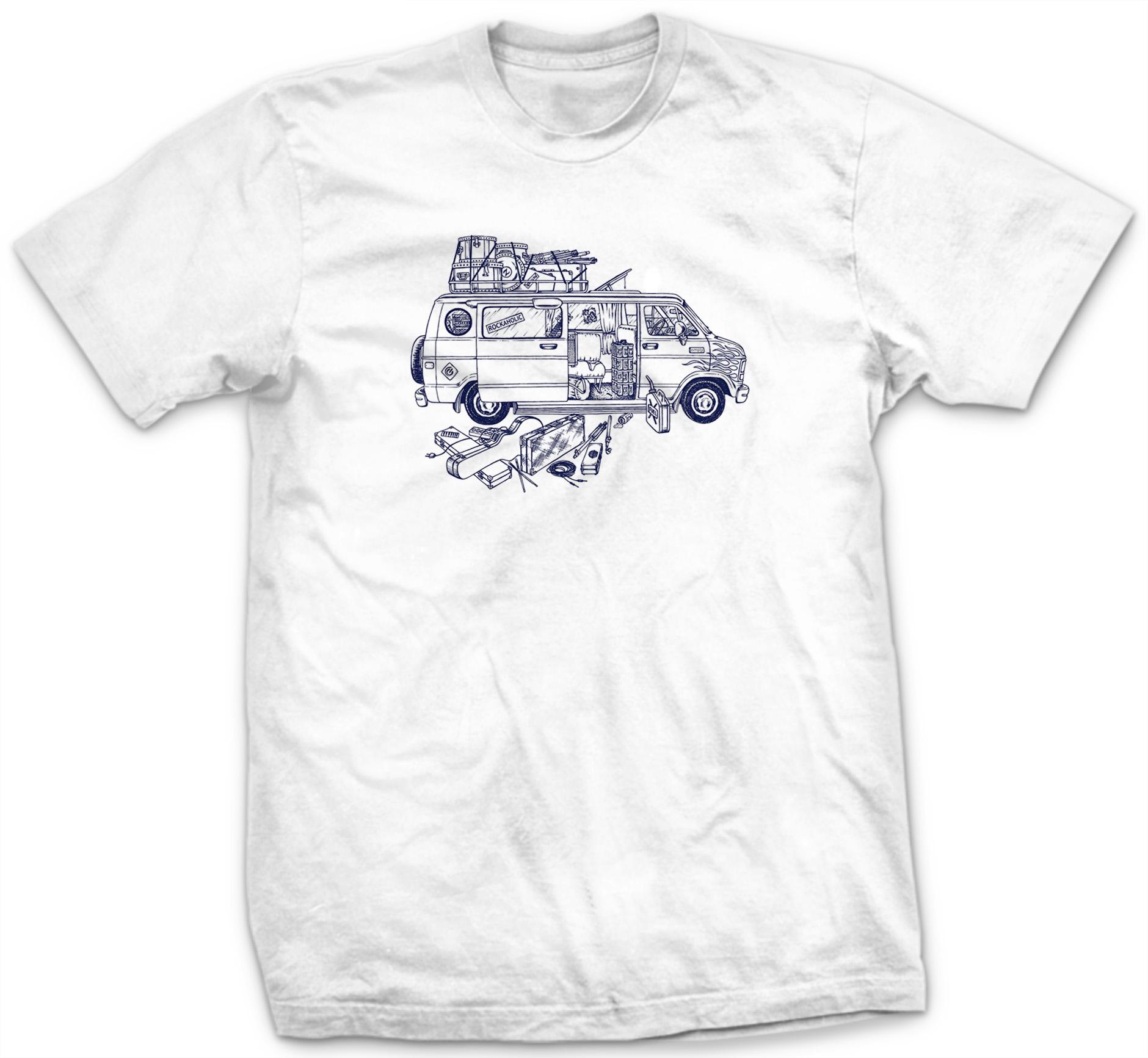 Camiseta Van 80'S