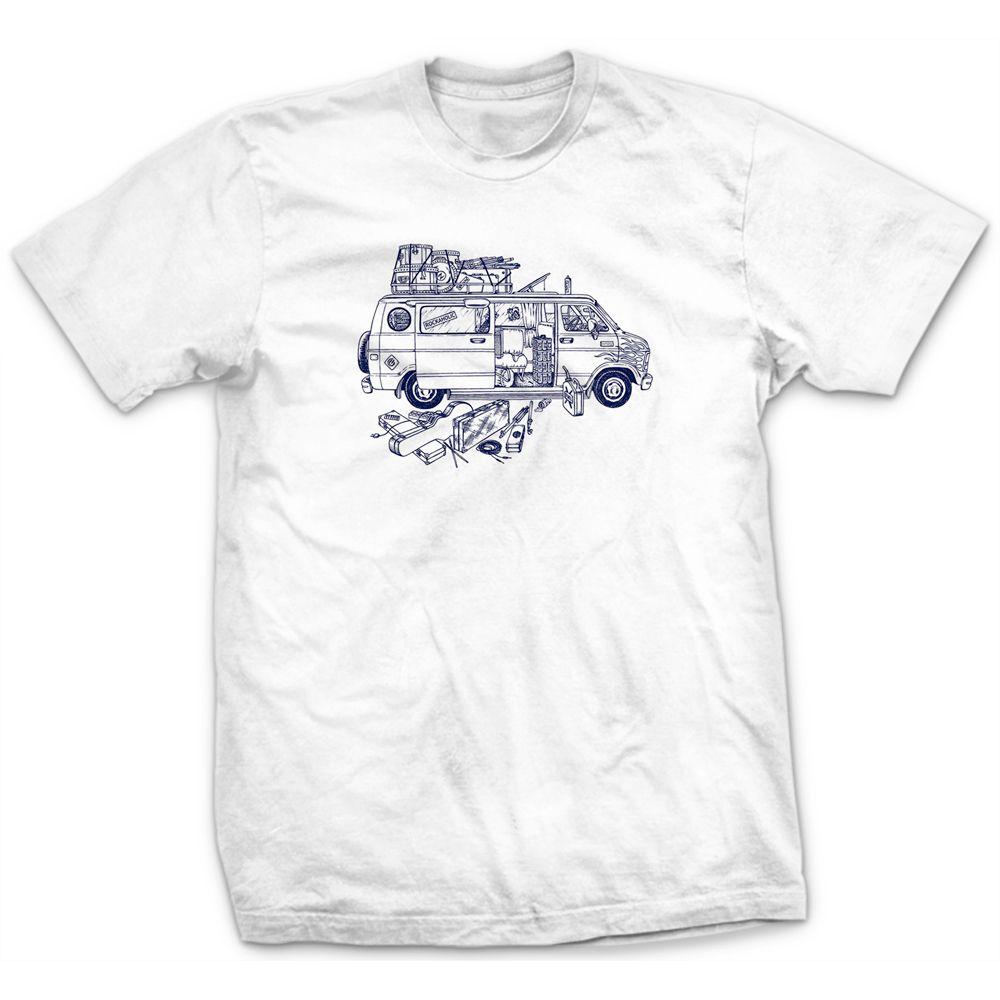 Camiseta Van 80s