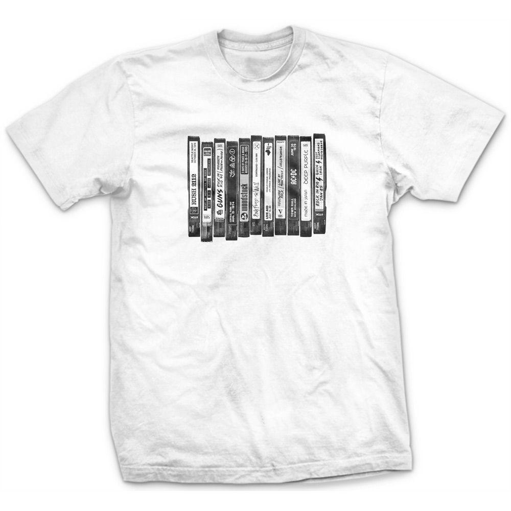 Camiseta  VHS Branco