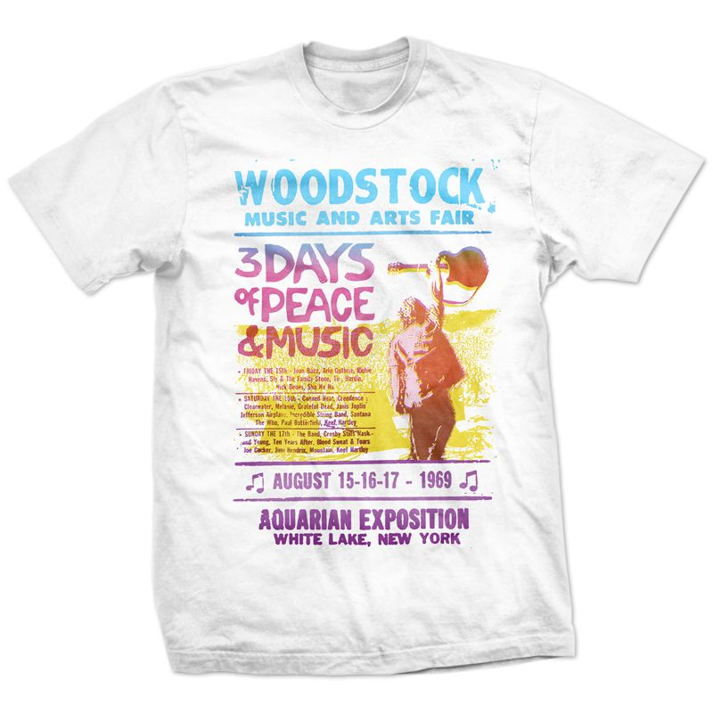 Camiseta Woodstock