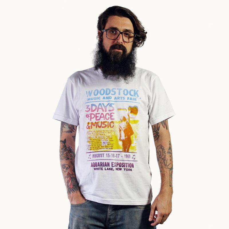 Camiseta Woodstock