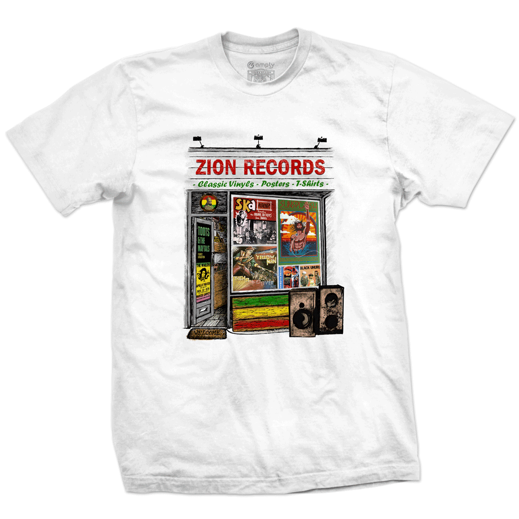 Camiseta Zion Records
