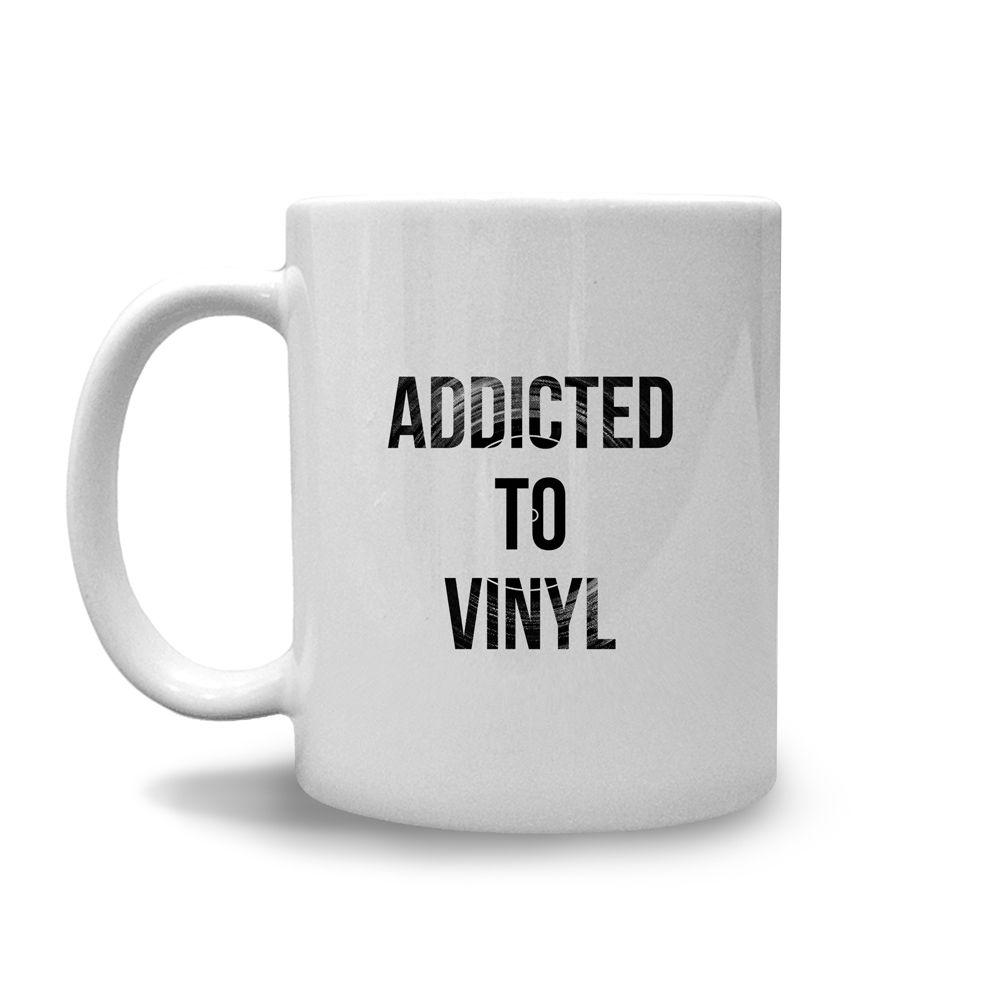 Caneca Addicted to Vinyl