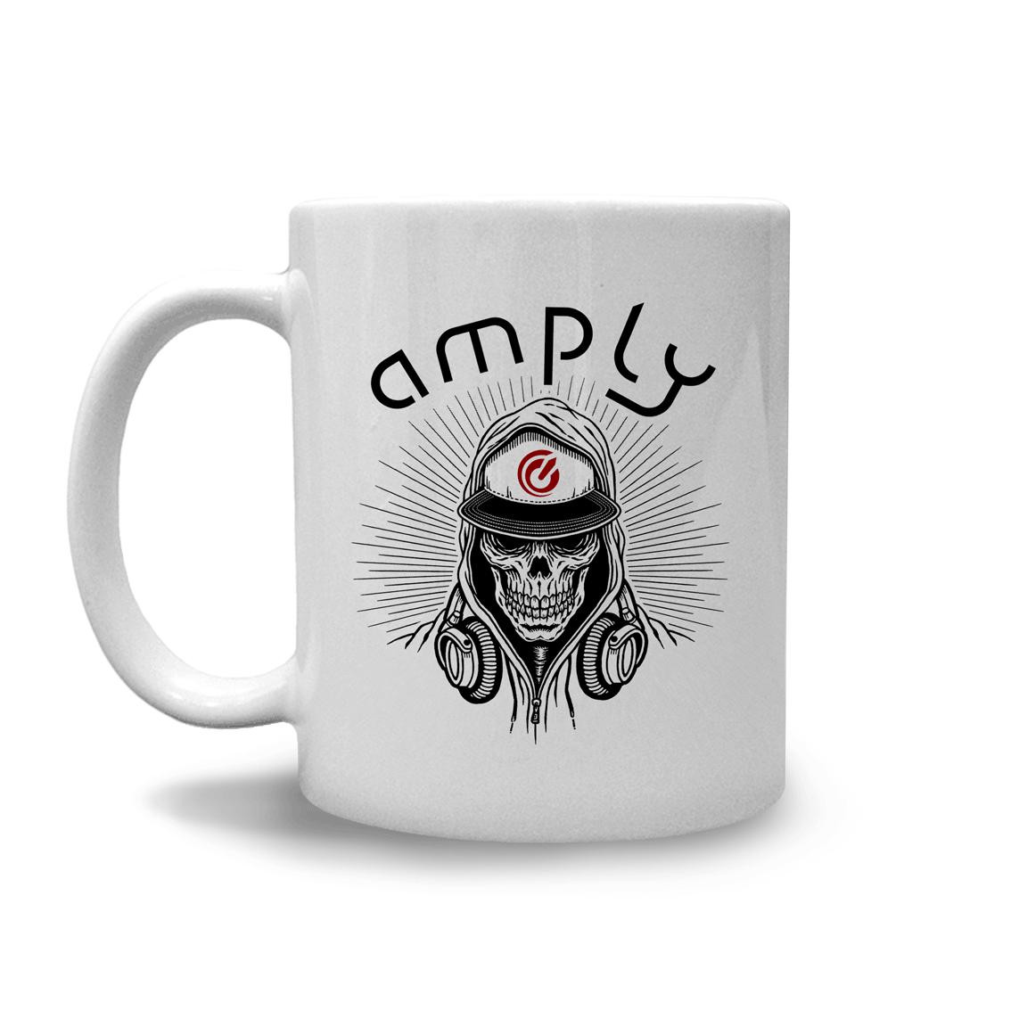 Caneca Amply Skull