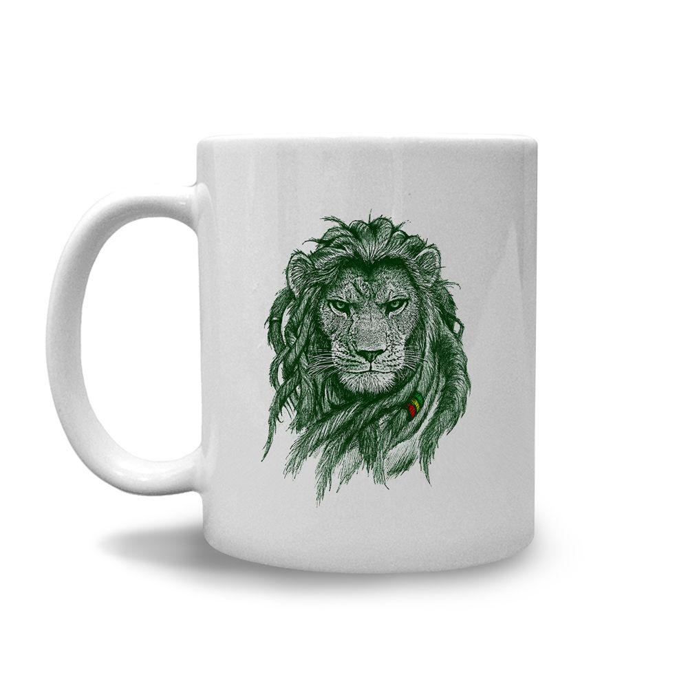 Caneca Rasta Lion