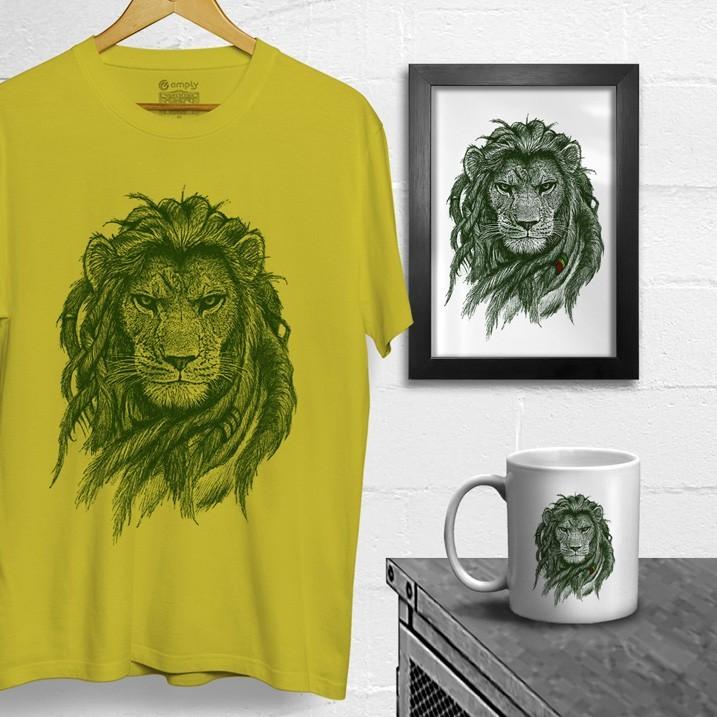 Combo Rasta Lion