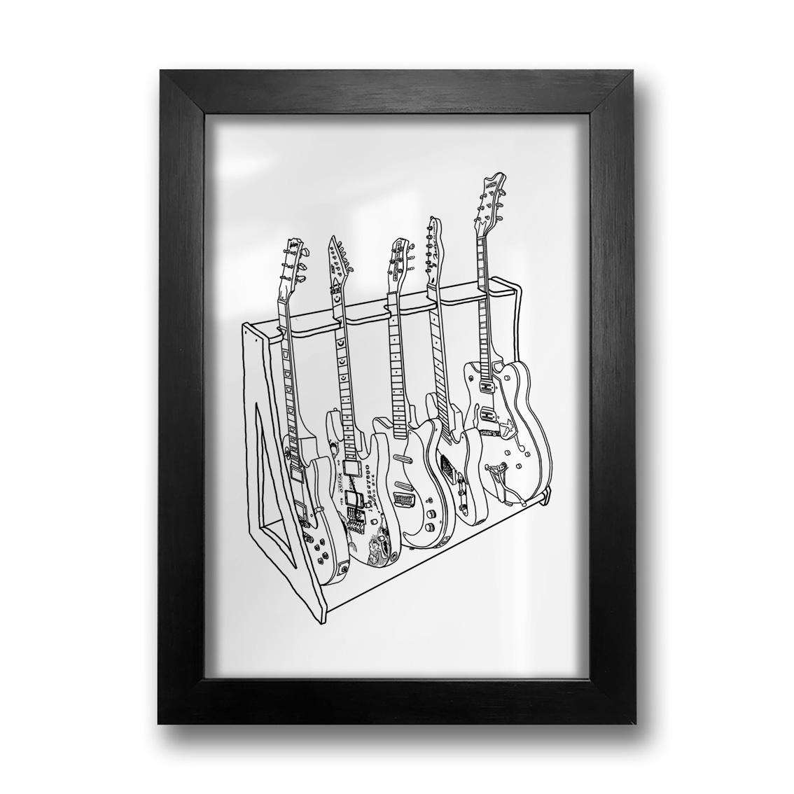 Quadro Guitars Stand
