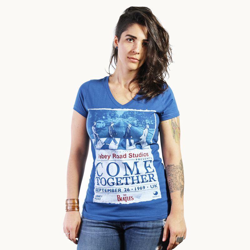 Longet Feminina Beatles Azul