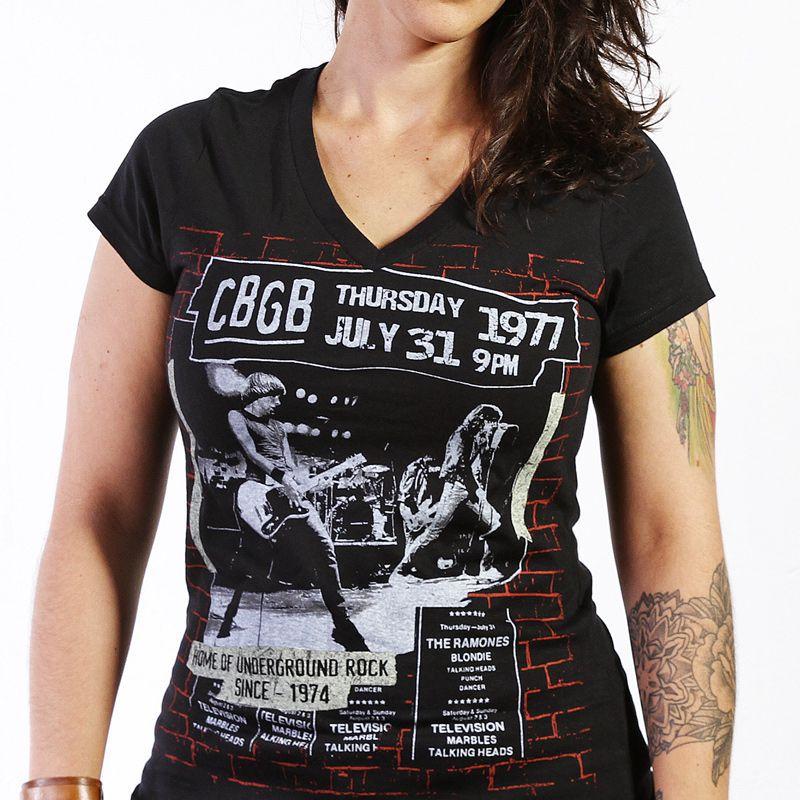 Longet Feminina CBGB