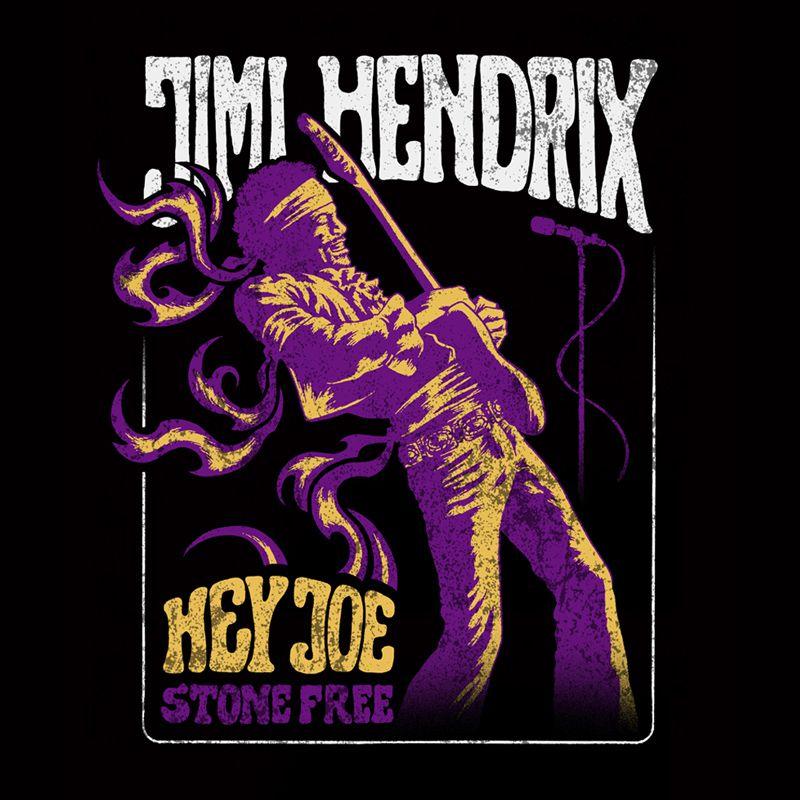 Longet Feminina Jimi Hendrix Stone Free