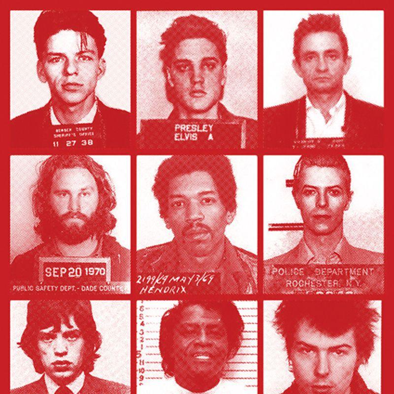 Longet Feminina Prisons Vermelha