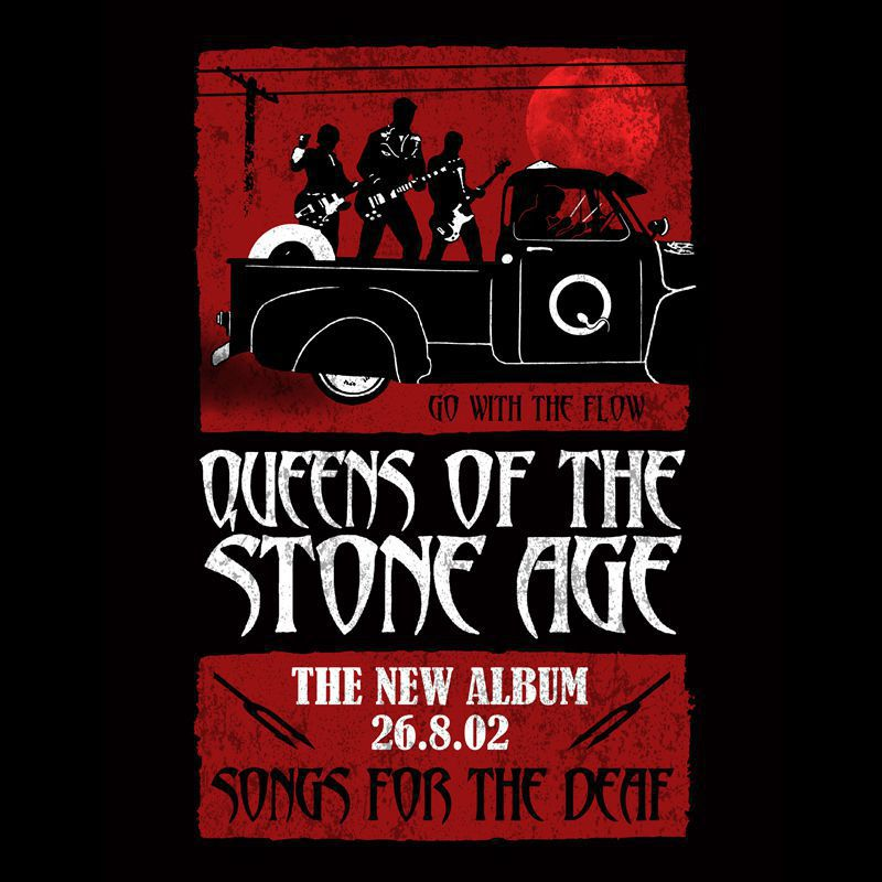 Longet Feminina Queens Of the Stone Age