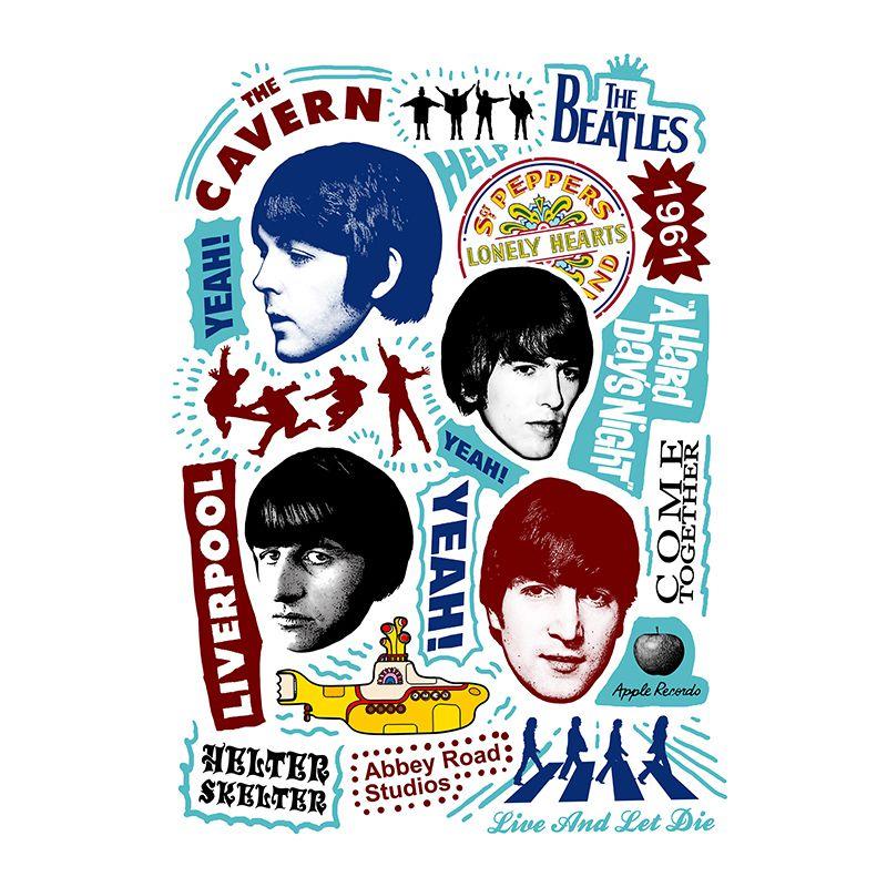 Longet Feminina The Beatles