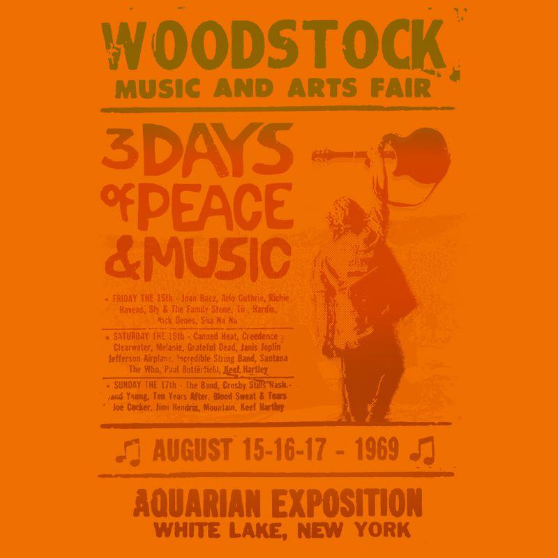Longet Feminina Woodstock Laranja