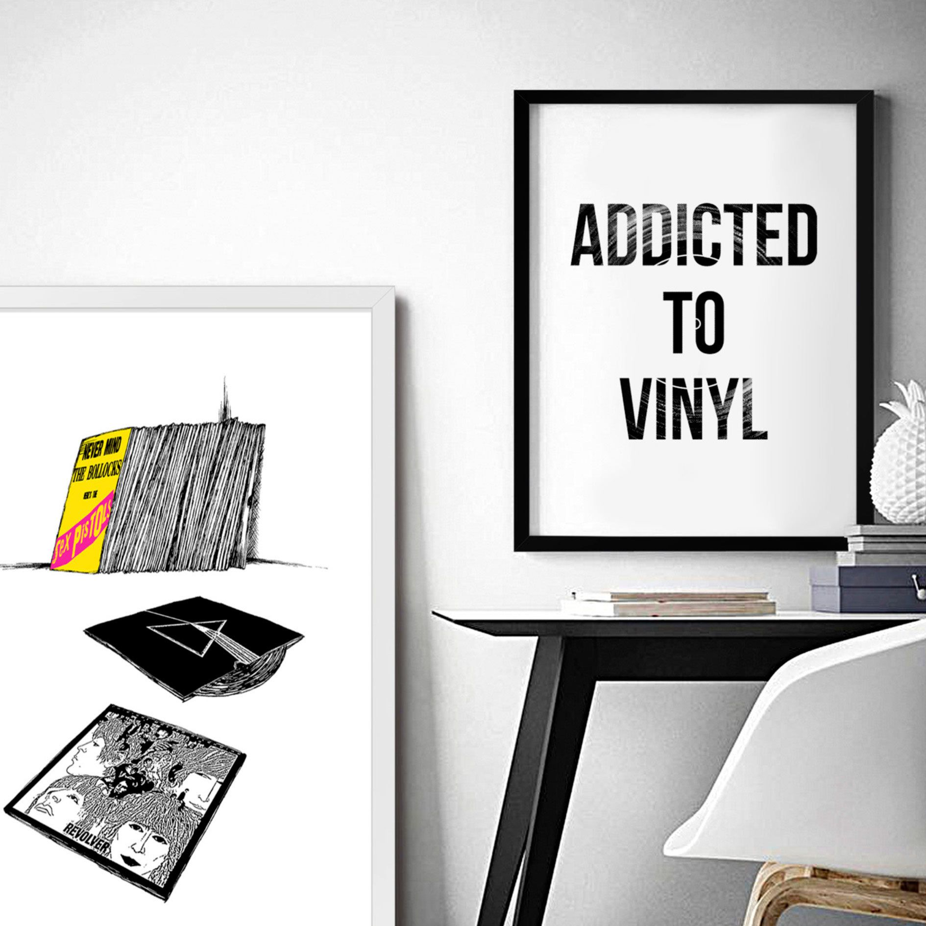 Poster/Quadro Addicted To Vinyl