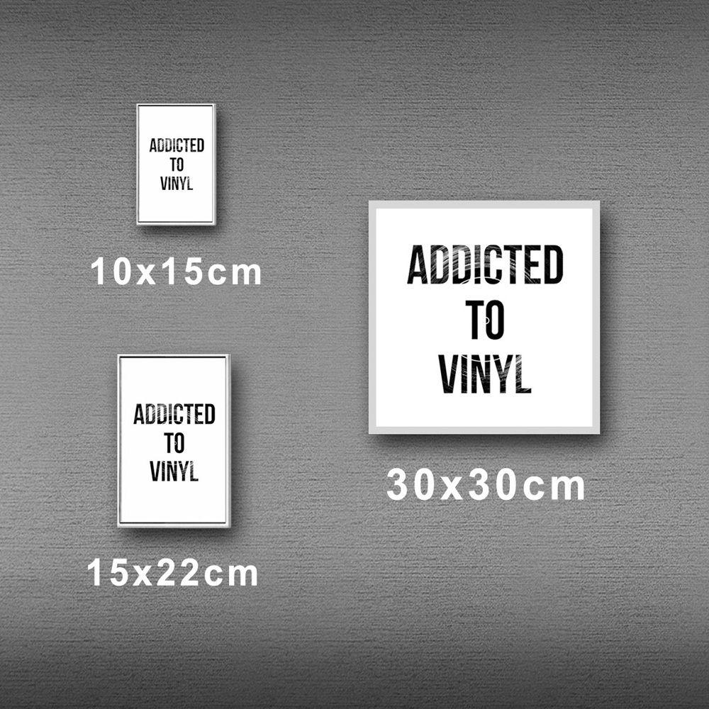 Poster/Quadro Addicted To Vinyl