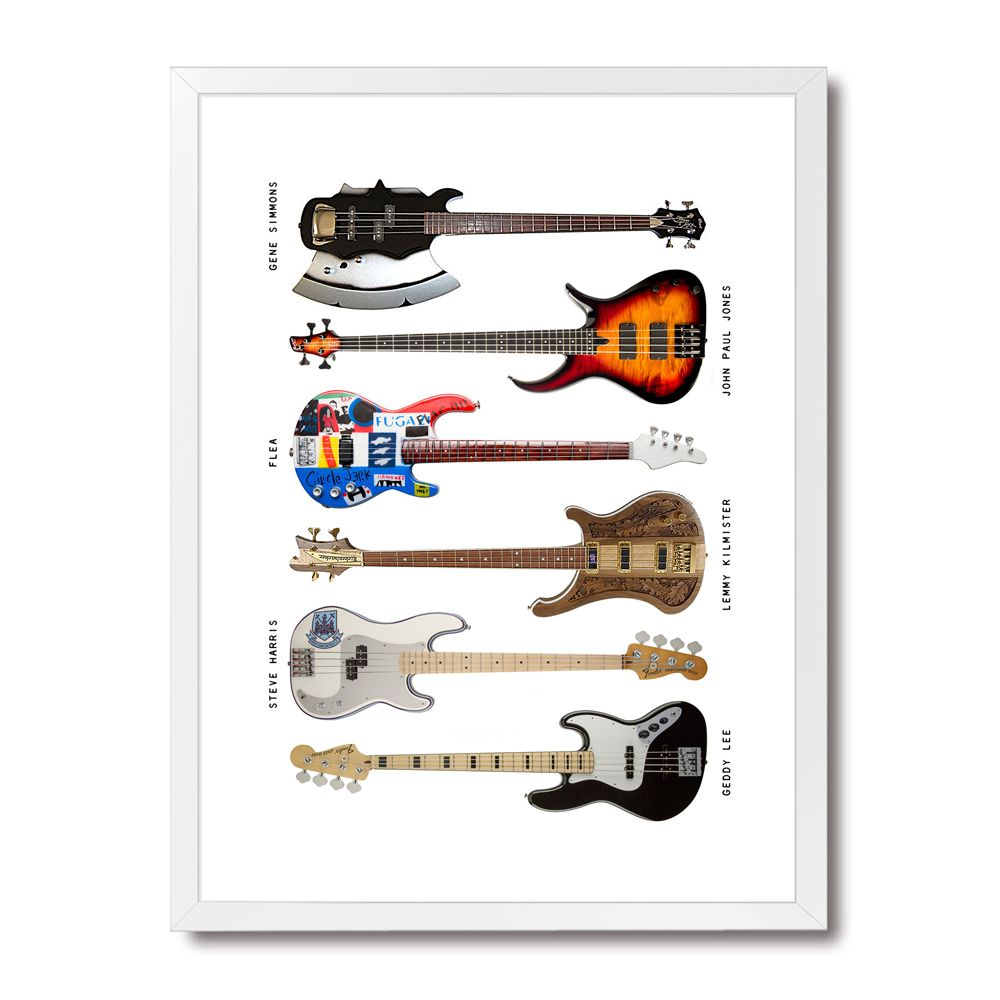 Poster/Quadro Bass Instruments