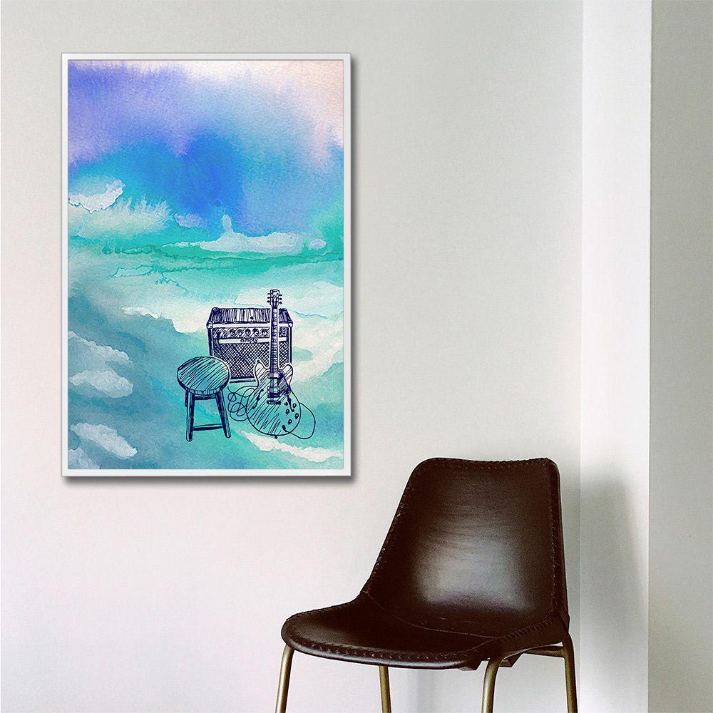 Poster/Quadro Blues
