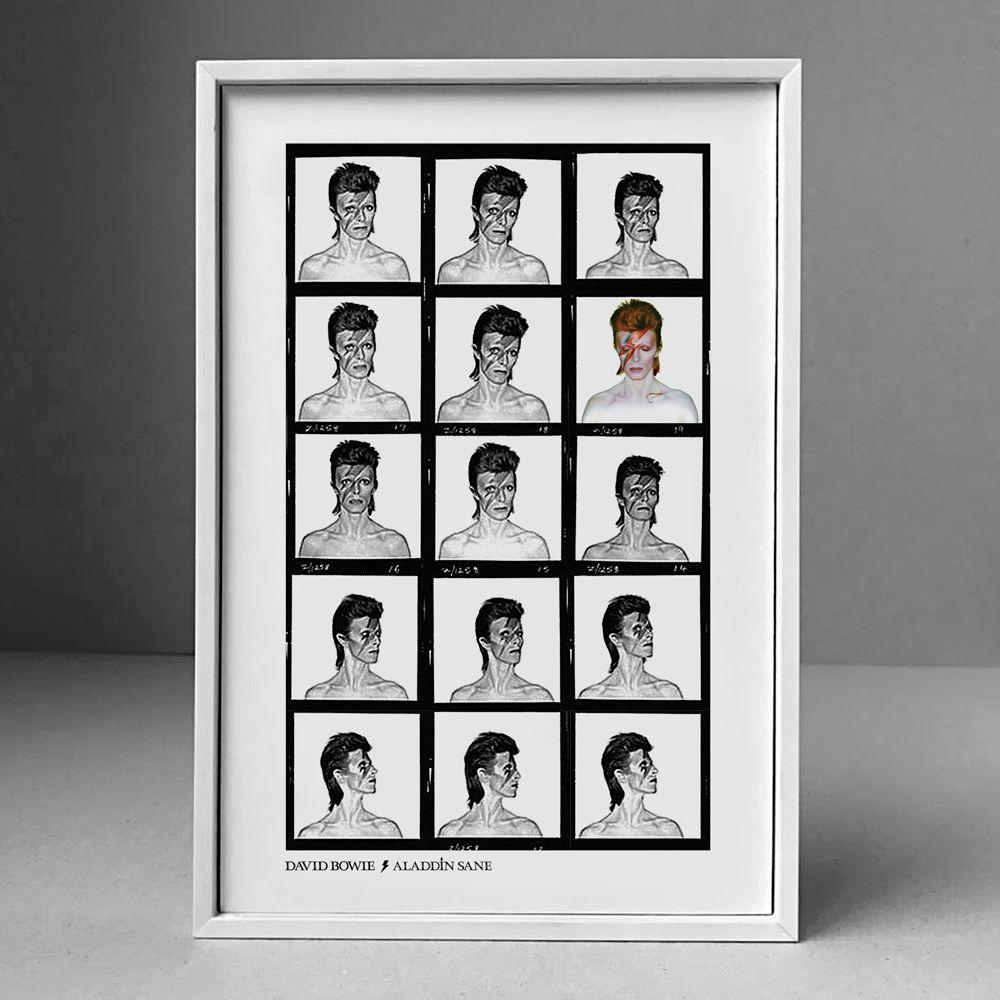 Poster/Quadro David Bowie
