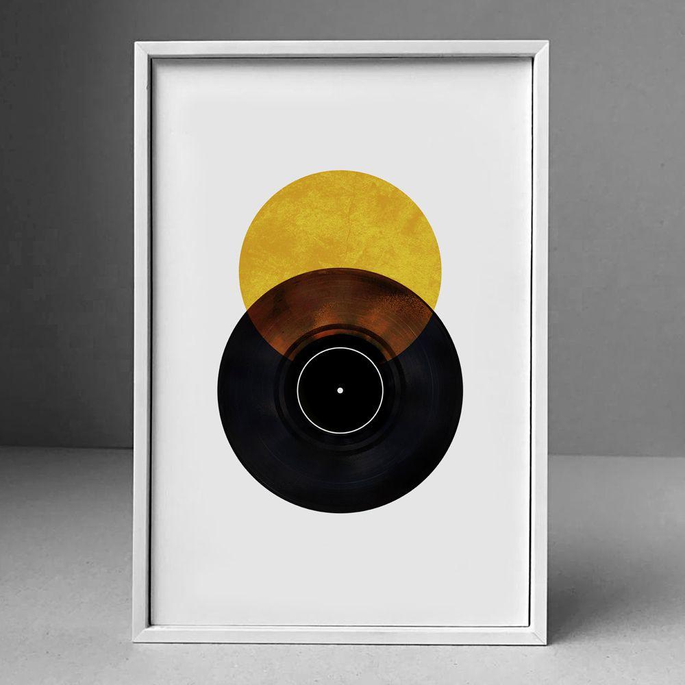 Poster/Quadro Disco