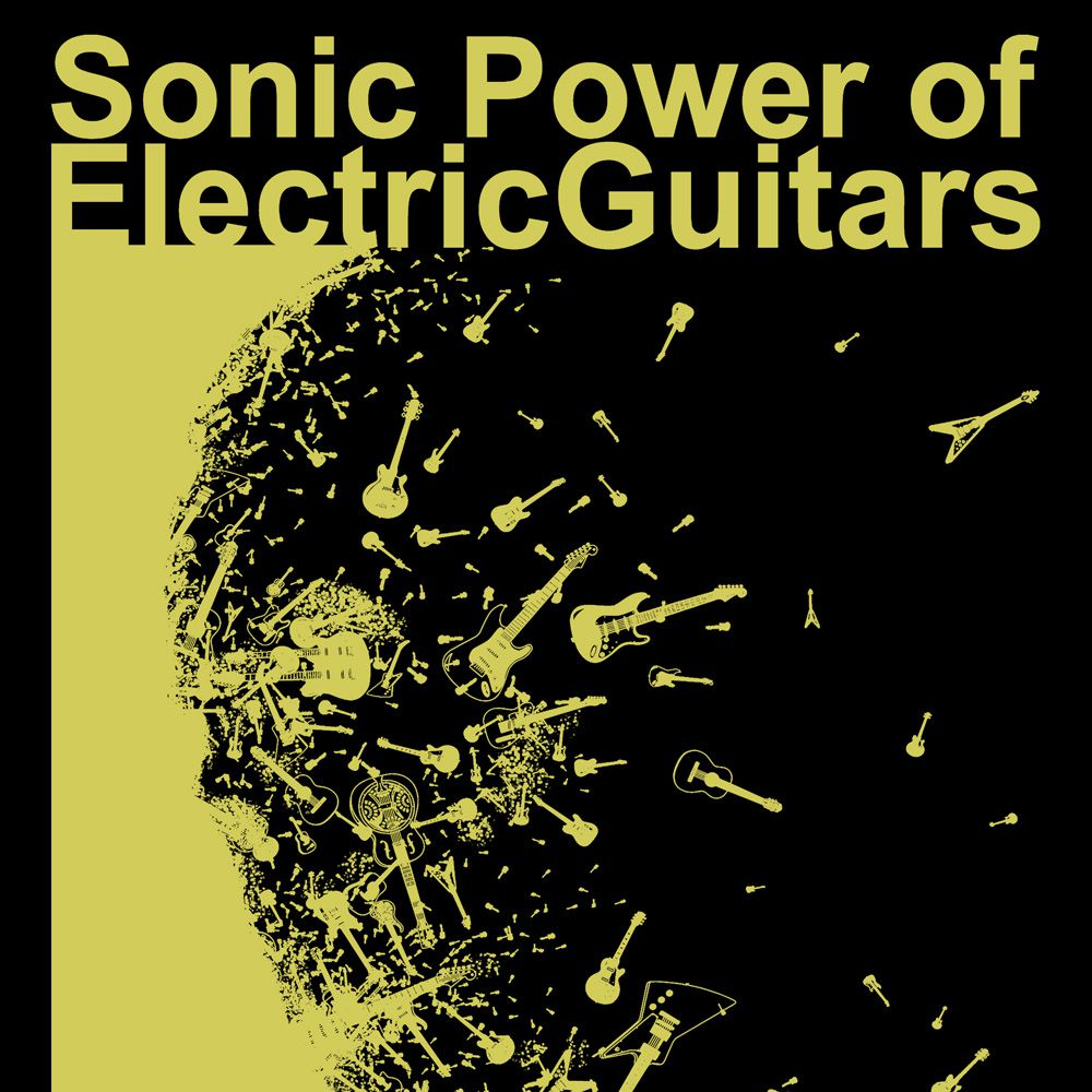 Poster/Quadro Electric Guitars