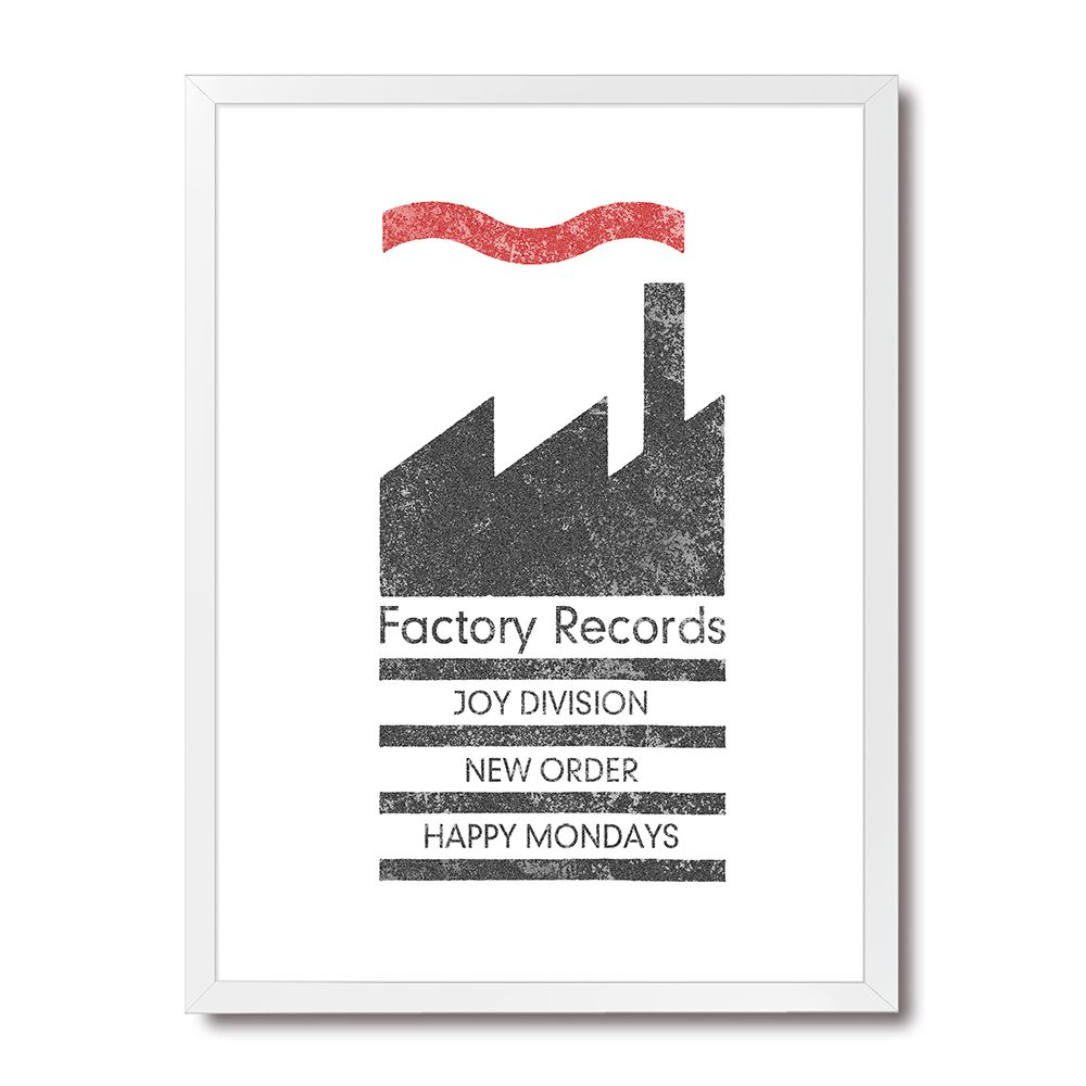 Poster/Quadro Factory Records