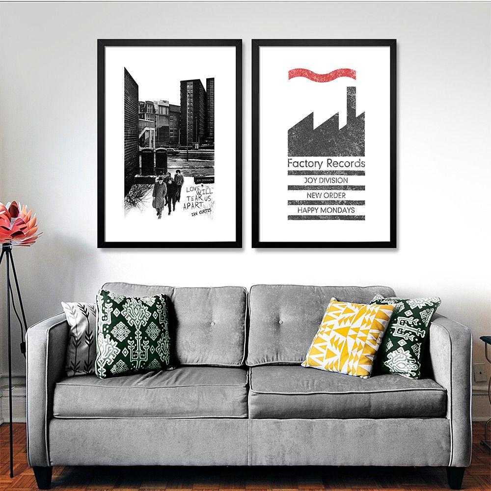 Poster/Quadro Factory Records