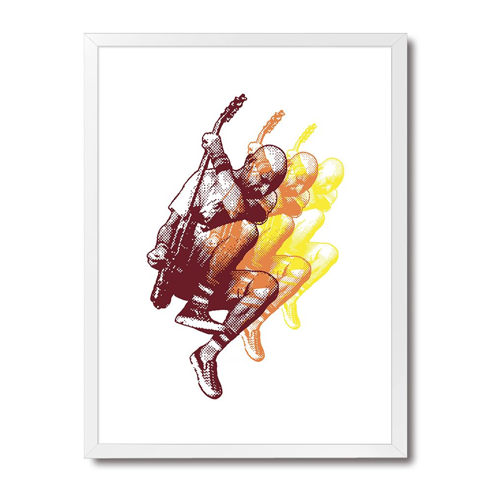 Poster/Quadro Flying Guitar