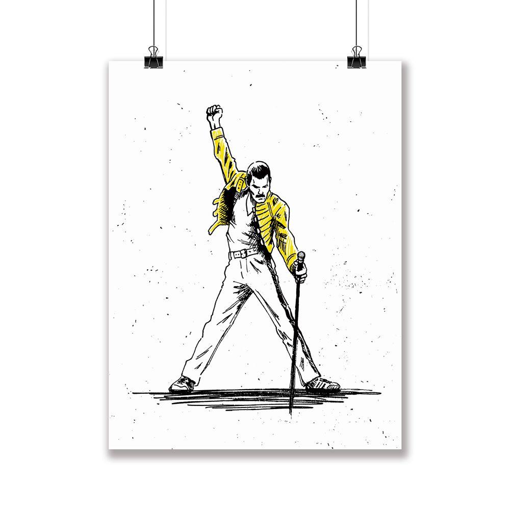 Poster/Quadro Freddie Mercury