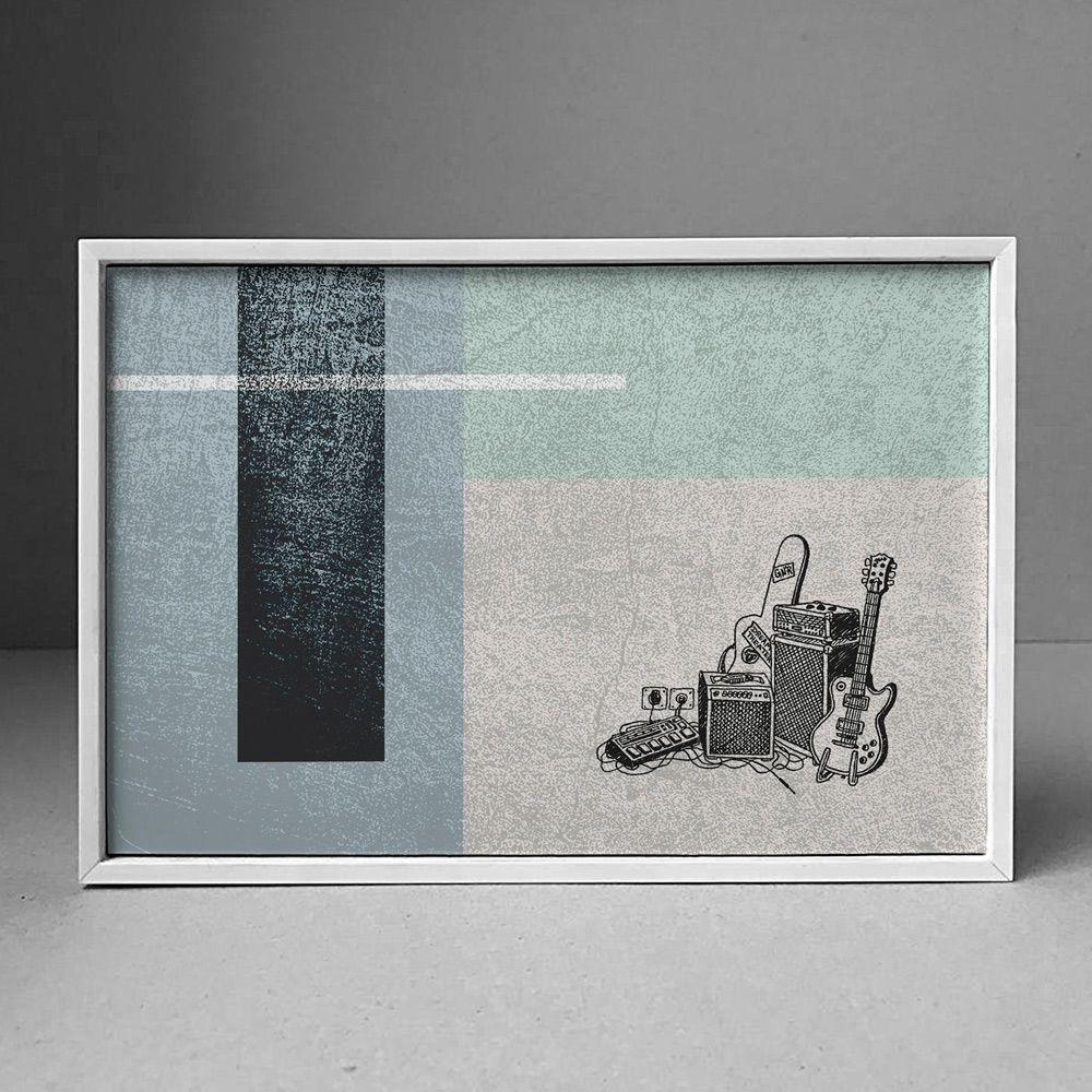 Poster/Quadro Geometric Sound