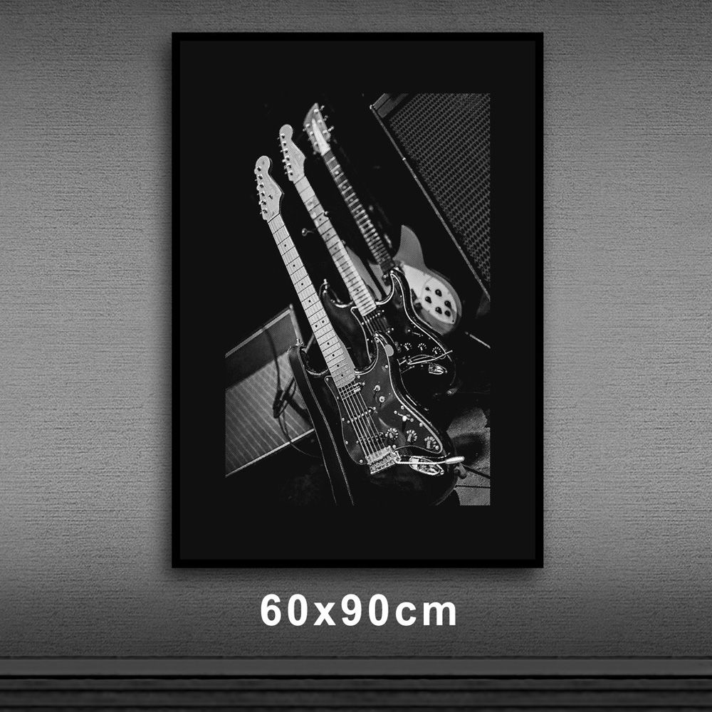 Poster/Quadro Guitars