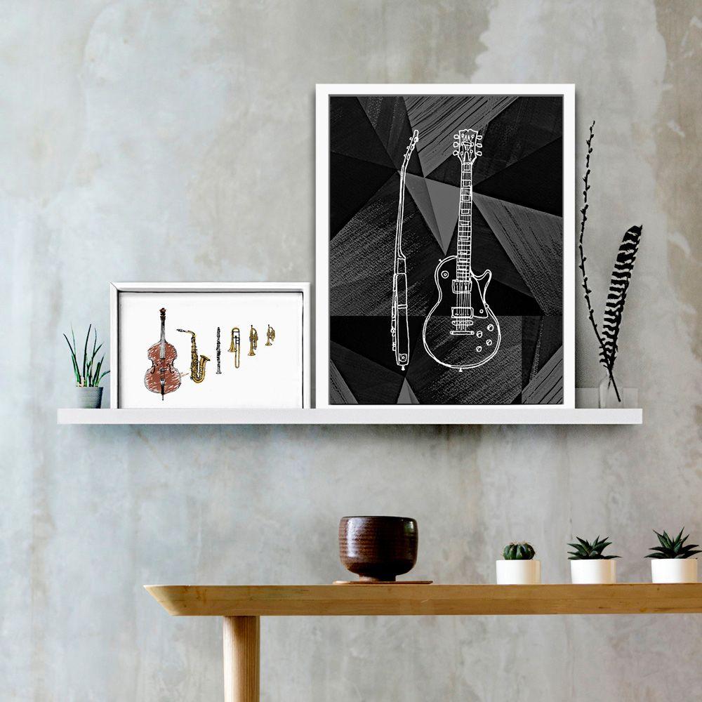Poster/Quadro Handmade Guitar