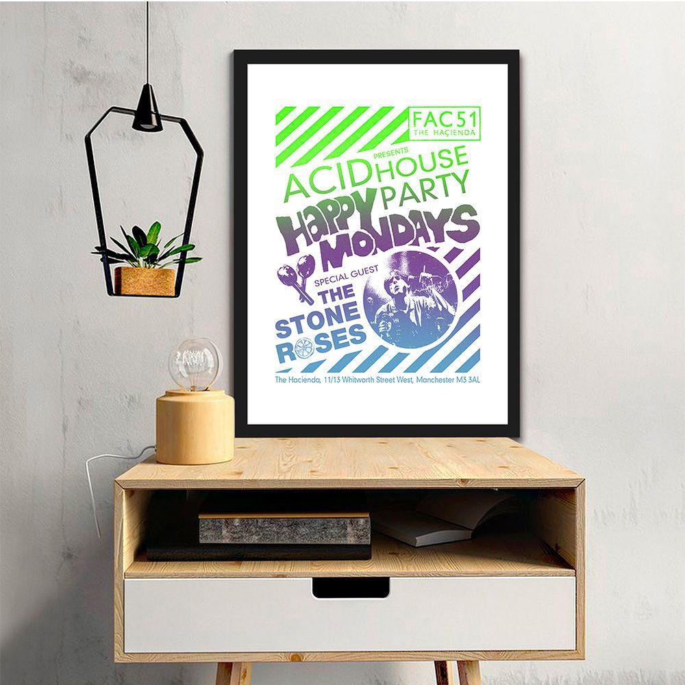 Poster/Quadro Happy Mondays