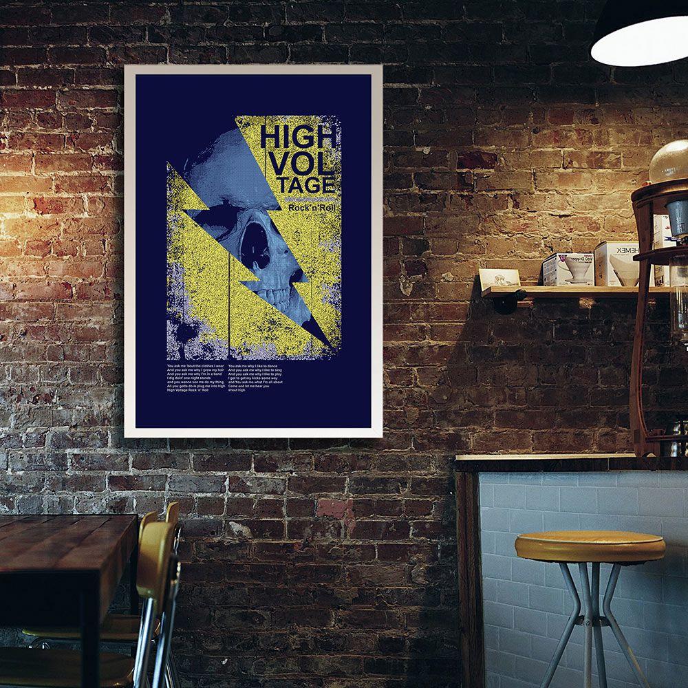 Poster/Quadro High Voltage