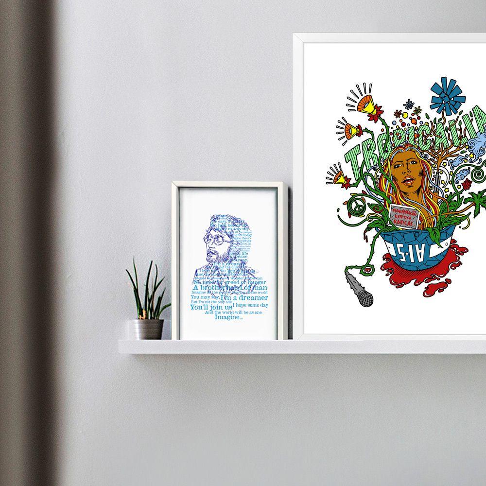 Poster/Quadro Imagine