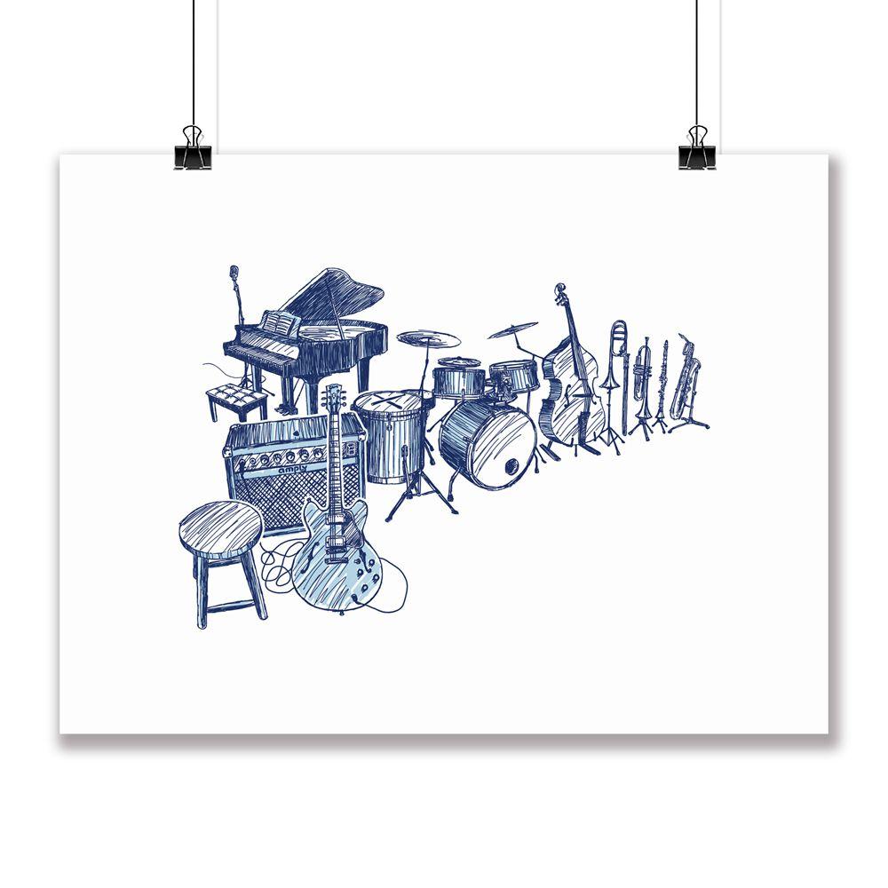 Poster/Quadro Improvisation