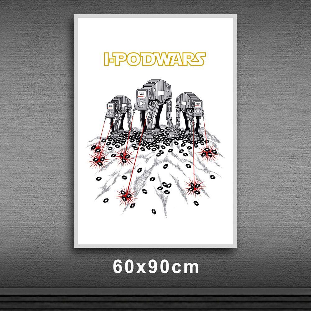 Poster/Quadro Ipod Wars