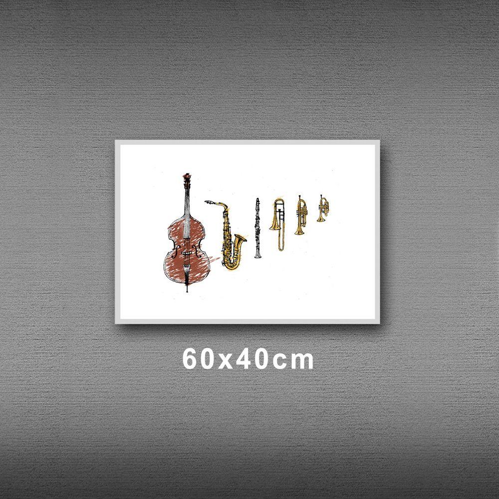 Poster/Quadro Jazz Instruments