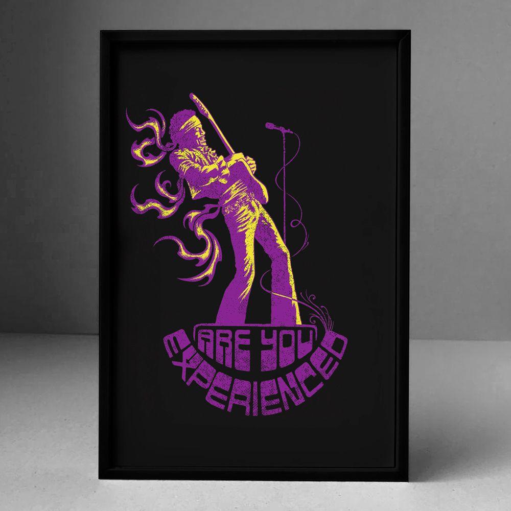 Poster/Quadro Jimi Hendrix