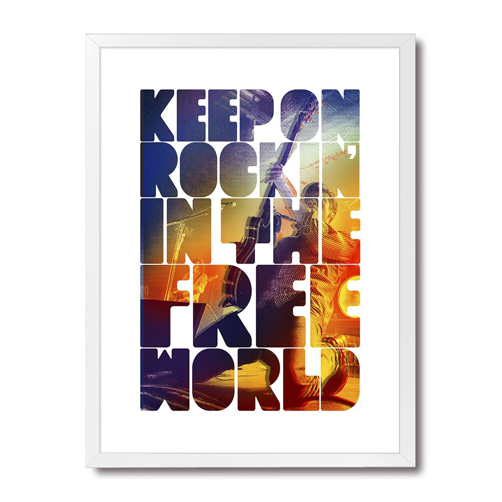 Poster/Quadro Keep On Rockin